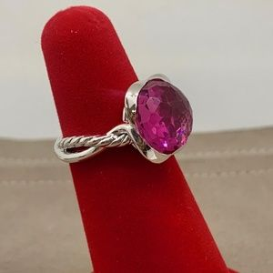 David Yurman Continuance Ring Pink Tourmaline
